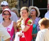 הדרכת סיורים בירושלים - צליינים בשער יפו