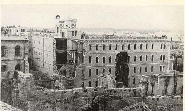 מנזר הנוטר דאם עד שנת 1967
