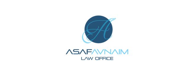 עיצוב לוגו למשרד עורכי דין אסף אבנעים