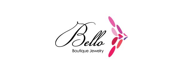 עיצוב לוגו למעצב תכשיטים bello