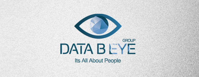 עיצוב לוגו לחברת השמה וכח אדם data b eye group