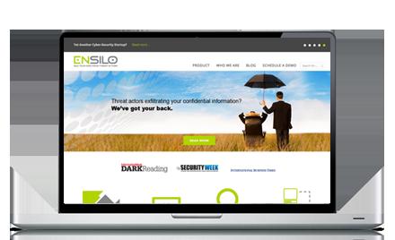 בניית אתר תדמיתי ENSILO