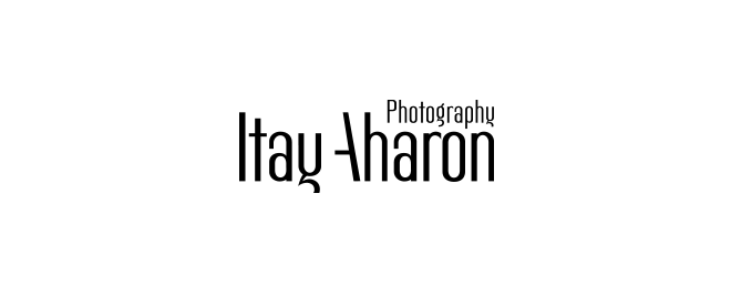 עיצוב לוגו לצילום אירועים איתי אהרון