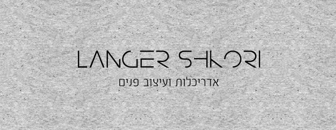 עיצוב לוגו לאדריכלות לנגר שקורי