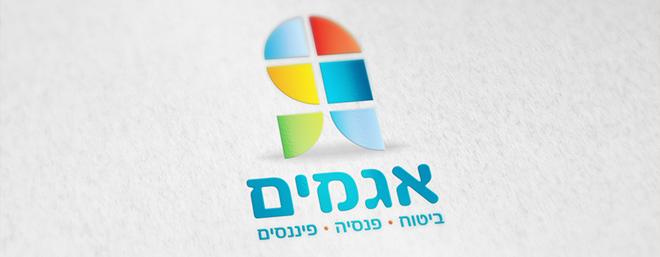 עיצוב לוגו לסוכן ביטוח אגמים