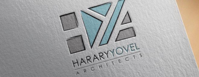 עיצוב לוגו למשרד הררי יובל אדריכלים
