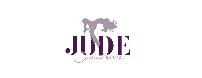 עיצוב לוגו לסטודיו למחול וריקוד jude