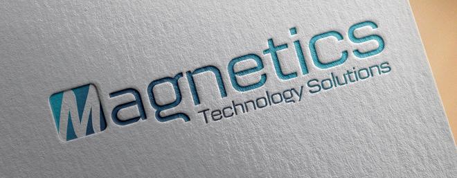 עיצוב לוגו לחברת הייטק מגנטיקס