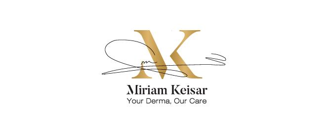 עיצוב לוגו לחברת קוסמטיקה מרים קיסר