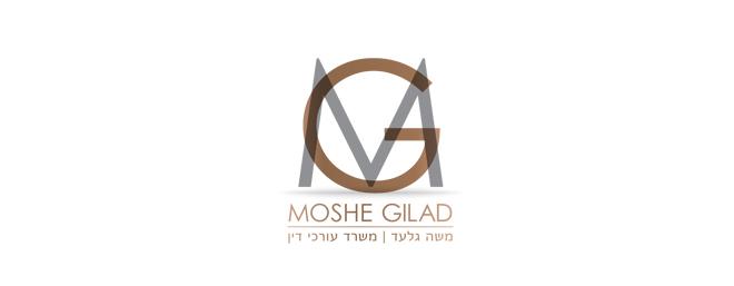 עיצוב לוגו עבור עורך דין משה גלעד