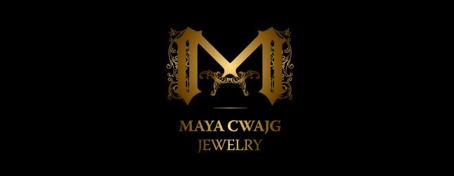 עיצוב לוגו למעצבת תכשיטים מאיה צוויג