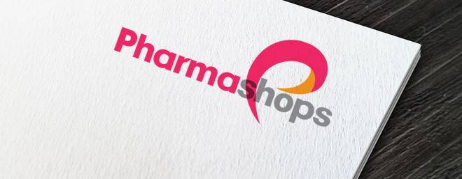 עיצוב לוגו למותג פארם פארמה שופס