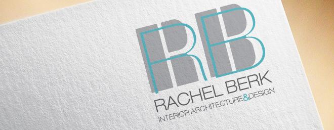 עיצוב לוגו עבור אדריכלית ומעצבת פנים רחל ברק