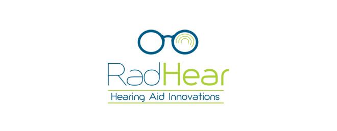 עיצוב לוגו עבור radhear מכשיר שמיעה