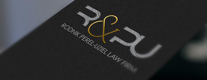 עיצוב לוגו למשרד עורכי דין רודניק פרל עוזיאל