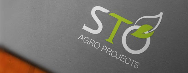 עיצוב לוגו לחברה לייעוץ, הקמה ותפעול חקלאות sto