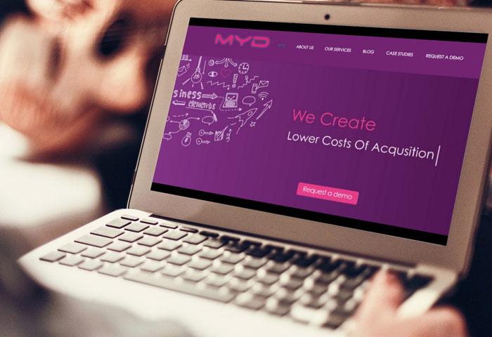 בניית אתר עבור MYD