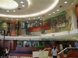 רח´ דיזנגוף, ציור קיר בסניף בנק המזרחי הדיזנגף סנטר, אדריכלית ליאת פרייז