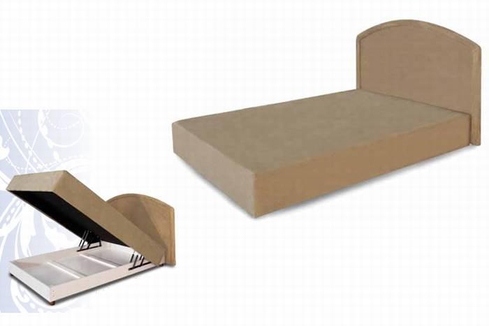 מזרוני קיסריה - בסיס מיטה + ארגז מצעים