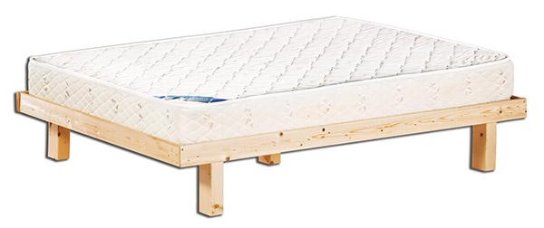 מזרוני קיסריה - בסיס מיטה מעץ אורן מלא