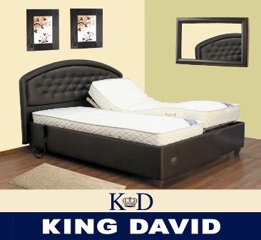 מיטה מתכווננת קומפלט - קינג דיויד