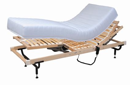 2 מיטות מתכווננות ו-2 מזרנים -מנדלבוים