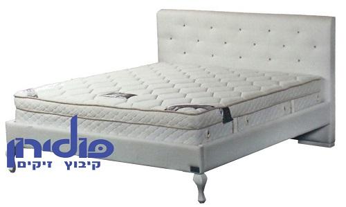מיטת פולירון מרופדת - דגם לואי