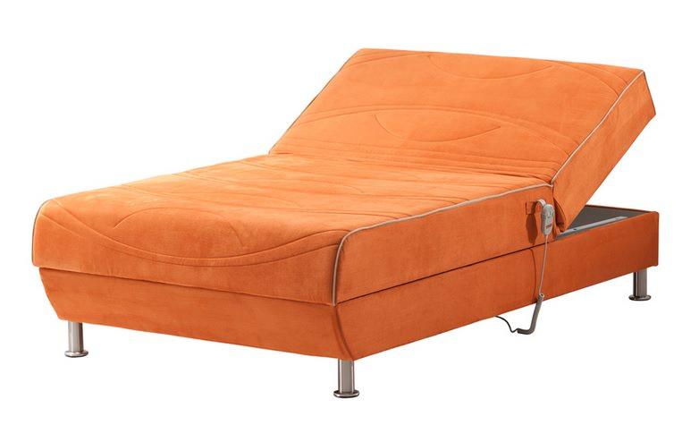 מיטה וחצי טוק בק ראש חשמלי עם רגלי מתכת