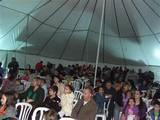 כ-700 איש הגיעו לאירוע בתוך אוהל הקרקס שלנו