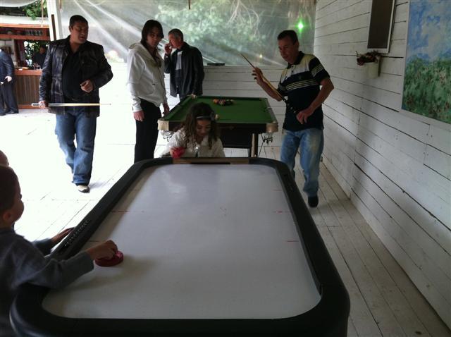 הוקי אויר להשכרה | שולחן הוקי אוויר