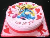 """עוגה עם תמונה אכילה 300 ש""""ח"""