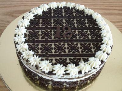 עוגות ראווה מקורס קונדיטוריה