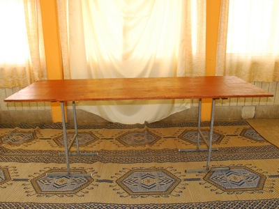 "שולחן מלבני 200/0.80 ס""מ - Rectangular Table 200/0.80 cm"