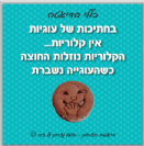מגנט - בשברי עוגיות אין קלוריות
