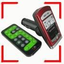 משדר FM דיגיטלי לרכב ונגן  MP3