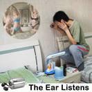 מכשיר האזנה מהפכני דרך קירות ודלתות