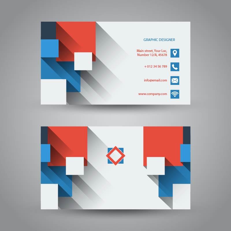 עיצוב כרטיס ביקור באילוסטרייטור