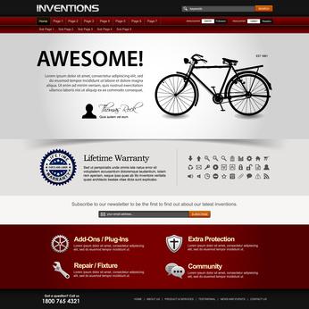 דוגמאות לעיצוב דפי אתר לאינטרנט - מסלול עיצוב אתרי