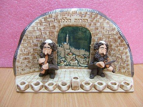 Hanukka candlesticks 5