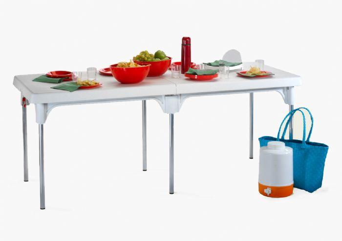 שולחן פלסטיק מתקפל כתר - מחיר מיוחד!