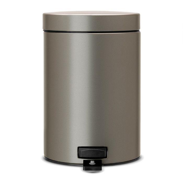 פח אשפה ניקל 5 ליטר+ פדל