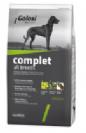 """מזון כלבים - גולוסי קומפלט 3 ק""""ג"""
