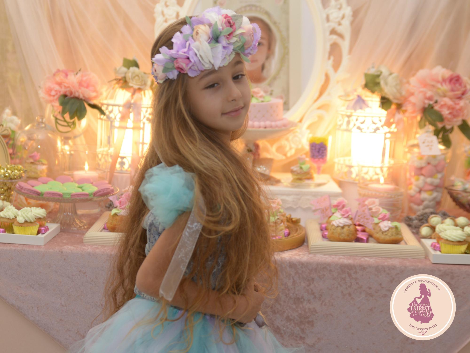 תמונות מיום הולדת נסיכותי לבנות