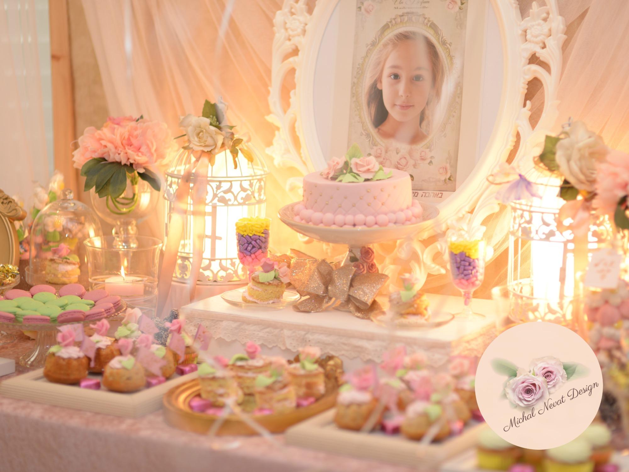 יום הולדת נסיכות, שולחן בר מתוק
