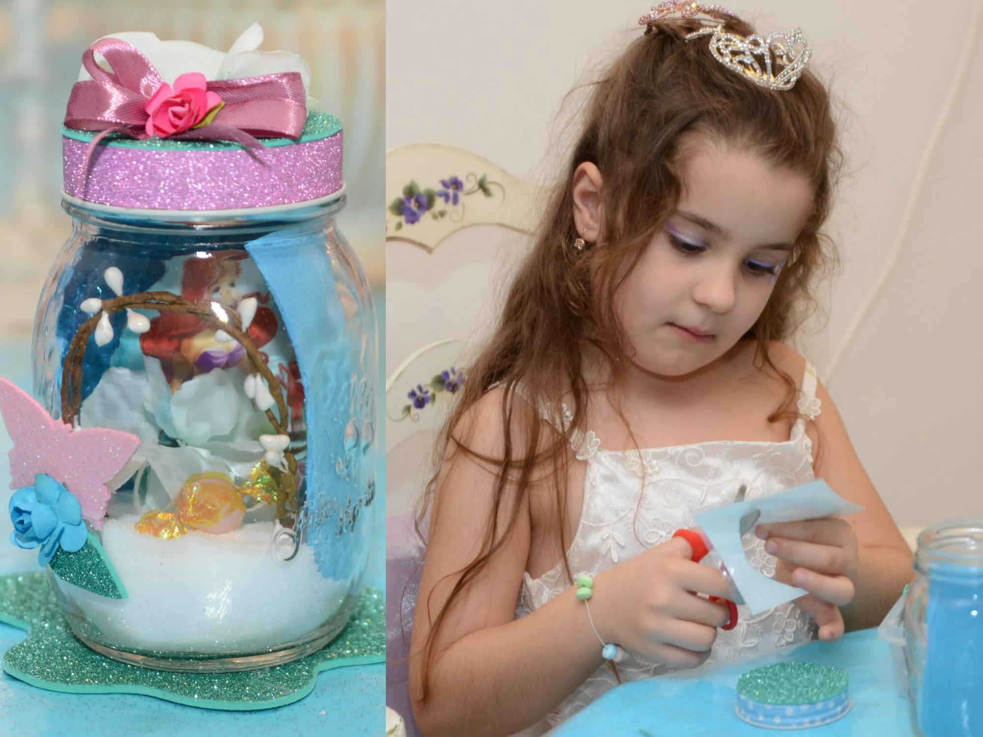 הפעלת יום הולדת בנות, יום הולדת בנות בת הים הקטנה