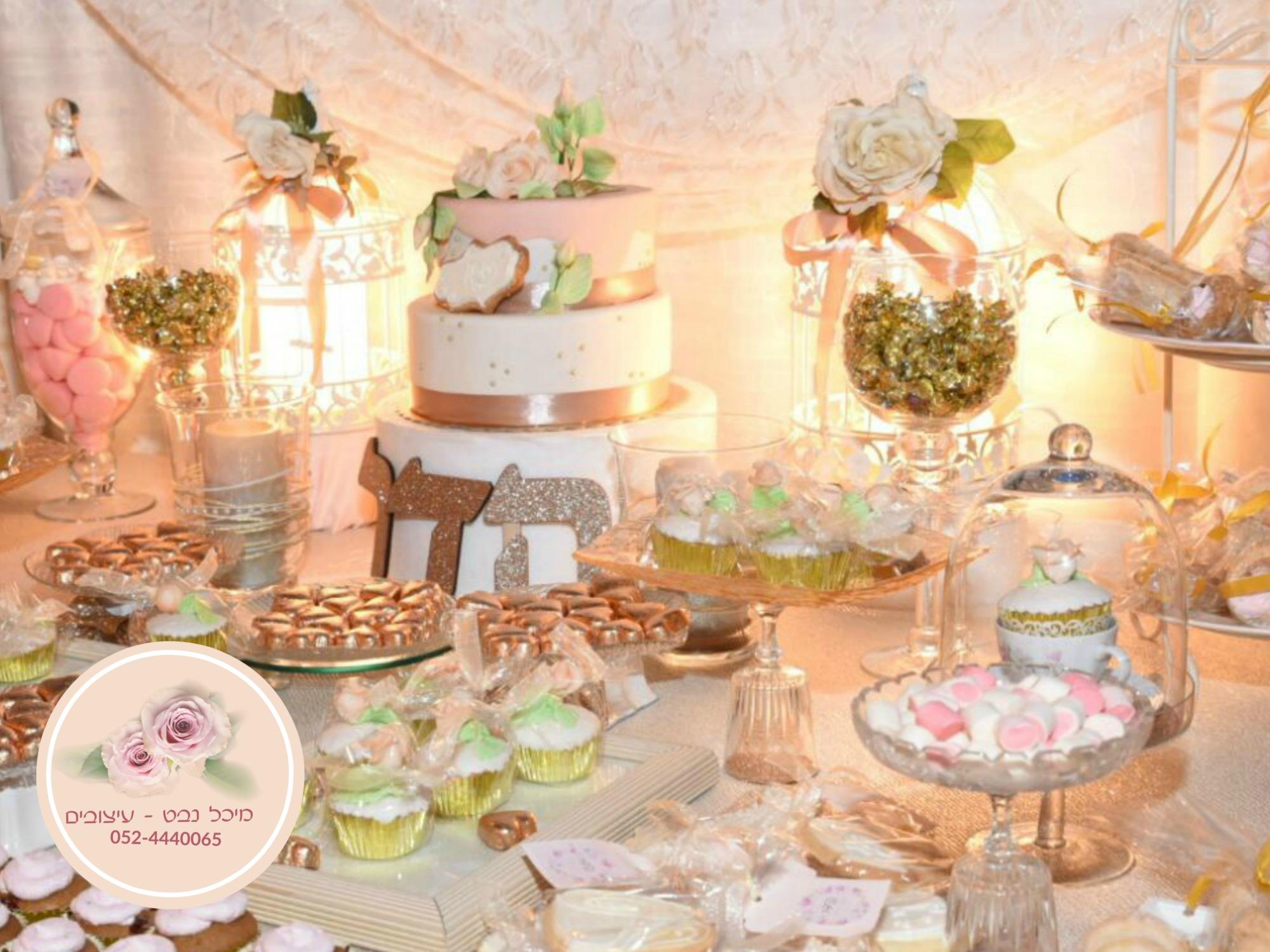 שולחנות בר מתוקים לבת מצווה, שולחן מתוק ליום הולדת