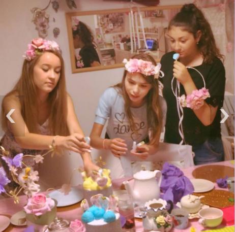 הפעלת יום הולדת לנערות, הפעלת בת מצווה בצק סוכר