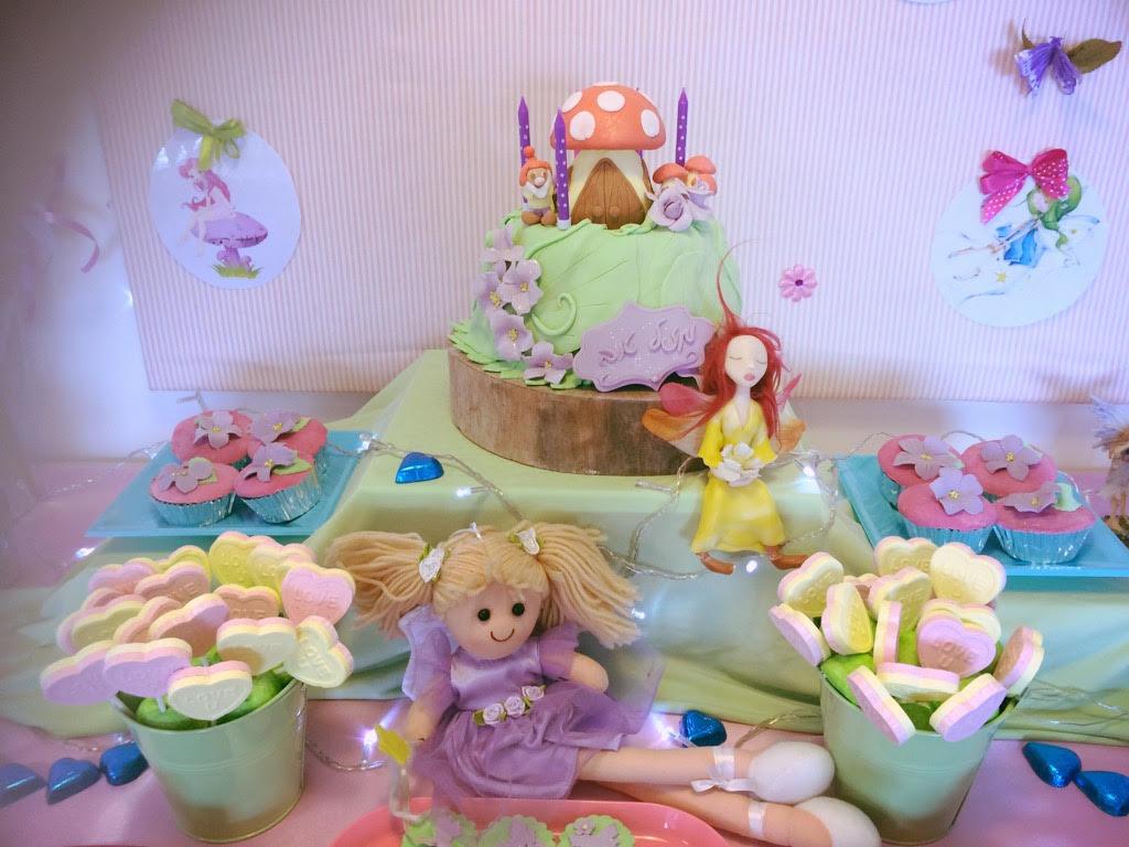 שולחן מתוק בר מתוקים ליום הולדת ארבע