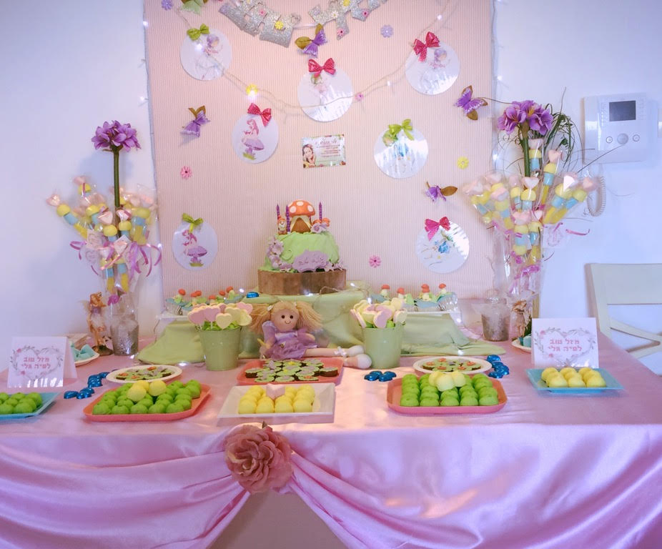 שולחן מתוק ליום הולדת בנות - מיכל - 052-4440065