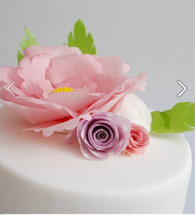 רעיון למסיבת רווקות בוילה בצפון קישוט עוגות בנייר